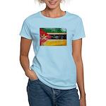 Mozambique Flag Women's Light T-Shirt