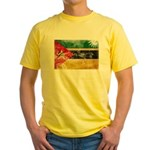 Mozambique Flag Yellow T-Shirt