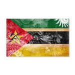Mozambique Flag 22x14 Wall Peel