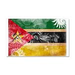 Mozambique Flag Car Magnet 20 x 12