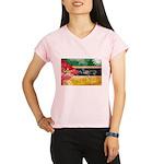 Mozambique Flag Performance Dry T-Shirt