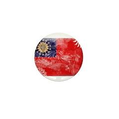 Myanmar Flag Mini Button (100 pack)