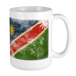 Namibia Flag Large Mug