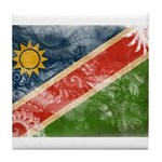 Namibia Flag Tile Coaster