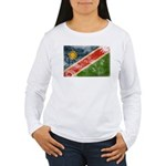 Namibia Flag Women's Long Sleeve T-Shirt
