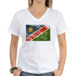 Namibia Flag Women's V-Neck T-Shirt