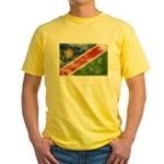 Namibia Flag Yellow T-Shirt