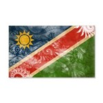 Namibia Flag 22x14 Wall Peel