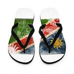 Namibia Flag Flip Flops