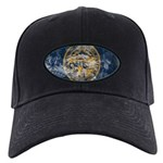 Nebraska Flag Black Cap