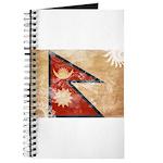 Nepal Flag Journal