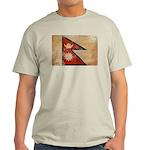 Nepal Flag Light T-Shirt