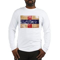 Netherlands Antilles Flag Long Sleeve T-Shirt