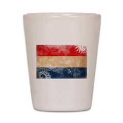 Netherlands Flag Shot Glass