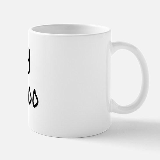 I LOVE MY Peek-A-Poo Mug