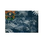 Nevada Flag Rectangle Magnet (100 pack)