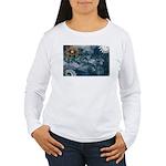Nevada Flag Women's Long Sleeve T-Shirt