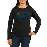 Nevada Flag Women's Long Sleeve Dark T-Shirt