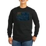 Nevada Flag Long Sleeve Dark T-Shirt