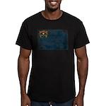 Nevada Flag Men's Fitted T-Shirt (dark)