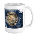 New Hampshire Flag Large Mug