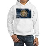 New Hampshire Flag Hooded Sweatshirt