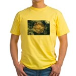New Hampshire Flag Yellow T-Shirt