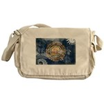 New Hampshire Flag Messenger Bag