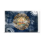 New Hampshire Flag Car Magnet 20 x 12