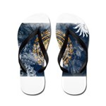 New Hampshire Flag Flip Flops