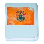 New Jersey Flag baby blanket