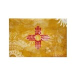 New Mexico Flag Rectangle Magnet (100 pack)