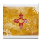 New Mexico Flag Tile Coaster
