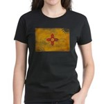 New Mexico Flag Women's Dark T-Shirt