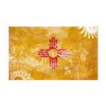 New Mexico Flag 38.5 x 24.5 Wall Peel