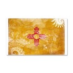 New Mexico Flag Car Magnet 20 x 12