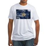 New York Flag Fitted T-Shirt