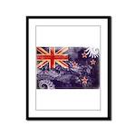 New Zealand Flag Framed Panel Print
