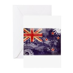 New Zealand Flag Greeting Cards (Pk of 10)