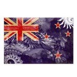 New Zealand Flag Postcards (Package of 8)