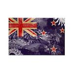 New Zealand Flag Rectangle Magnet
