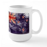 New Zealand Flag Large Mug