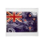New Zealand Flag Throw Blanket