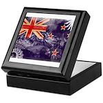 New Zealand Flag Keepsake Box