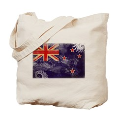 New Zealand Flag Tote Bag