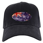 New Zealand Flag Black Cap
