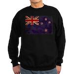 New Zealand Flag Sweatshirt (dark)