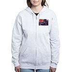 New Zealand Flag Women's Zip Hoodie