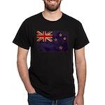 New Zealand Flag Dark T-Shirt