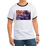 New Zealand Flag Ringer T